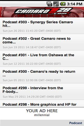 CamaroZ28.COM Podcast - screenshot