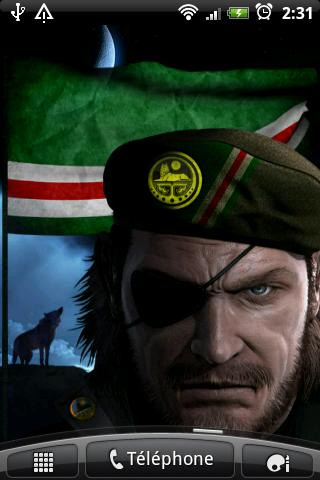 Chechen Warrior & Flag- screenshot