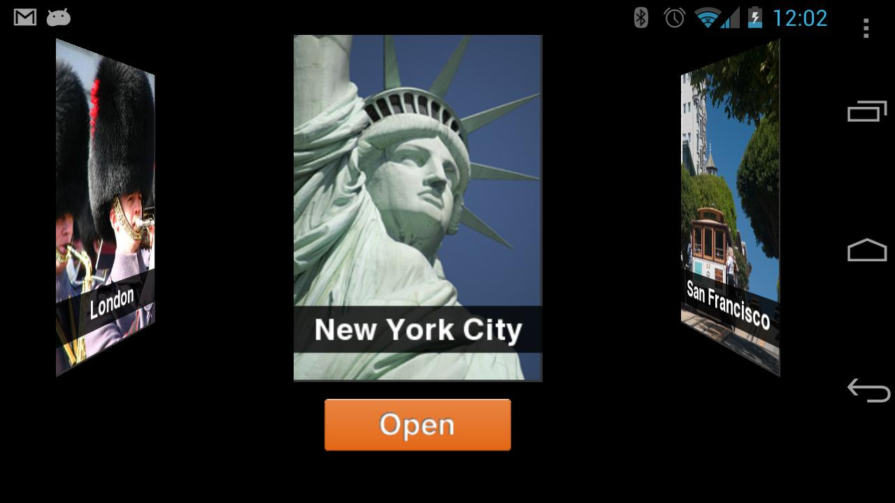 City Guides Catalog - screenshot