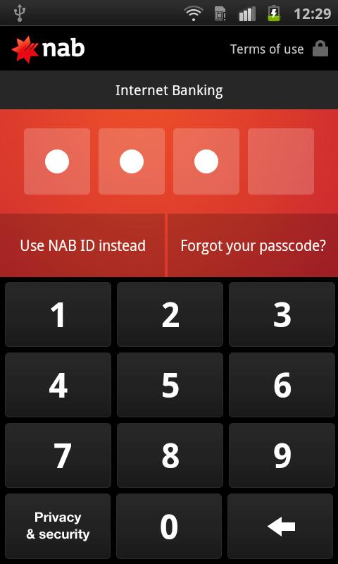 NAB - screenshot