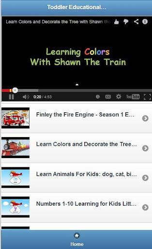 Toddler Educational Videos