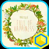 Full of Happiness : 카카오홈 테마