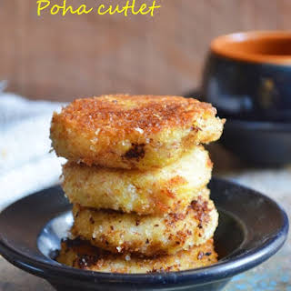 Aval cutlet recipe | Poha cutlet.