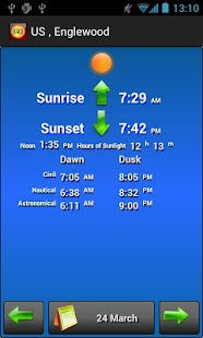 Sun Alarm Sunrise Sunset- screenshot thumbnail