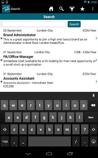 Tate Office Jobs