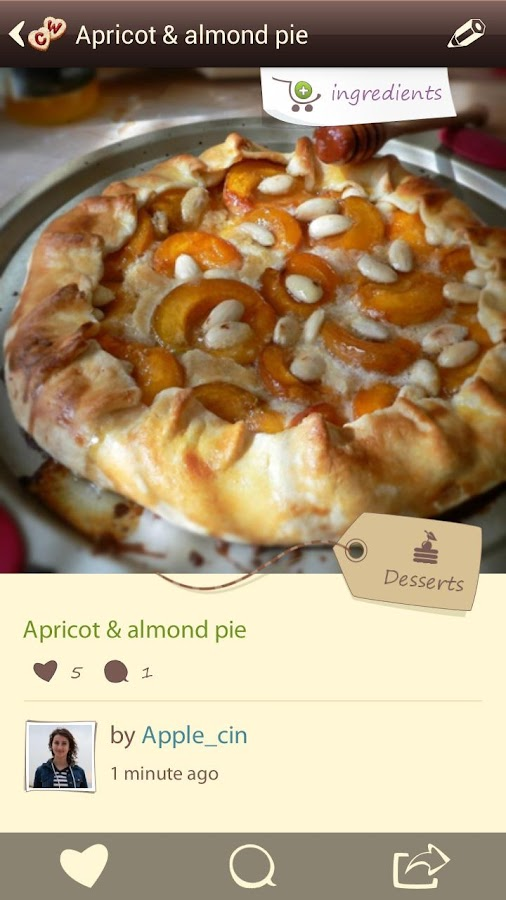 CookWizMe: Share Your Recipes! - screenshot