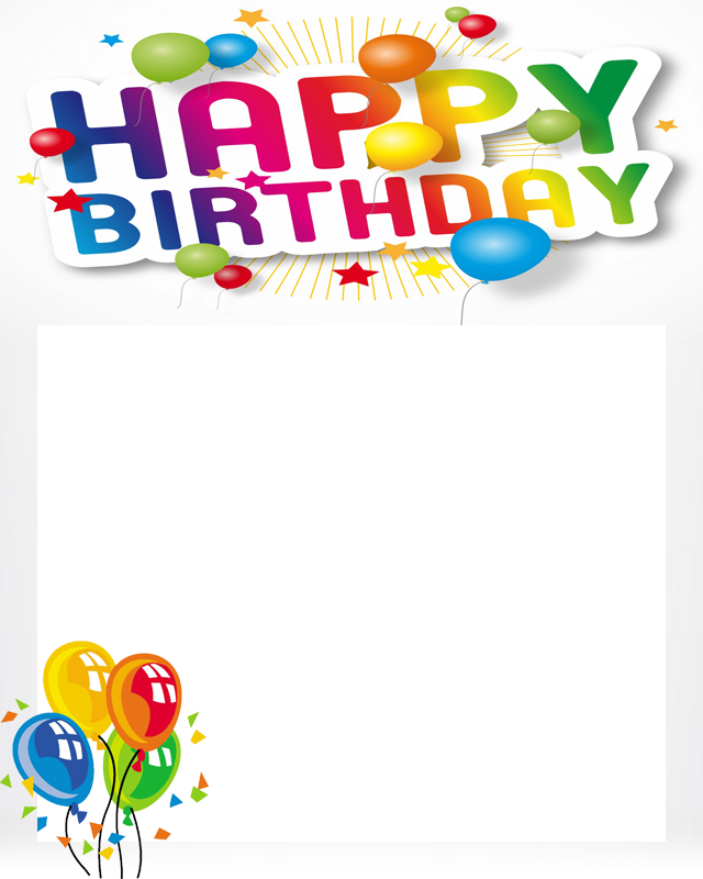 free happy birthday poto frame screenshot
