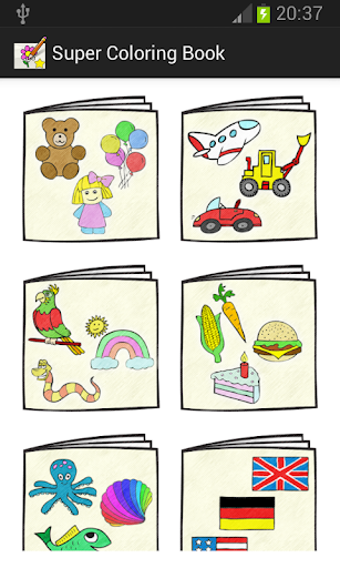 Super Coloring Book free