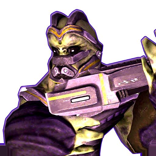 外星人狙擊手3D LOGO-APP點子