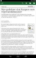 Screenshot of Morgenavisen Jyllands-Posten