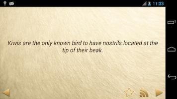 Screenshot of Amazing Animal Facts