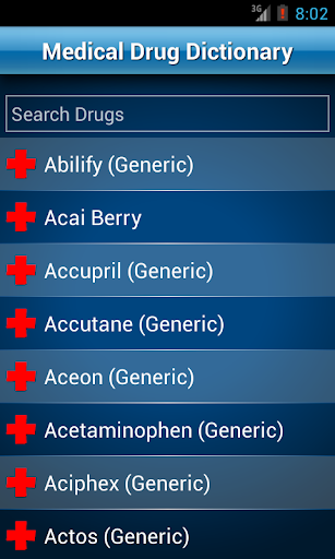 【免費醫療App】Drugs Dictionary Offline: FREE-APP點子