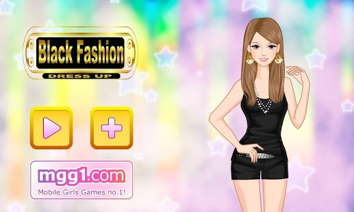 Black Fashion Dress Up - screenshot thumbnail