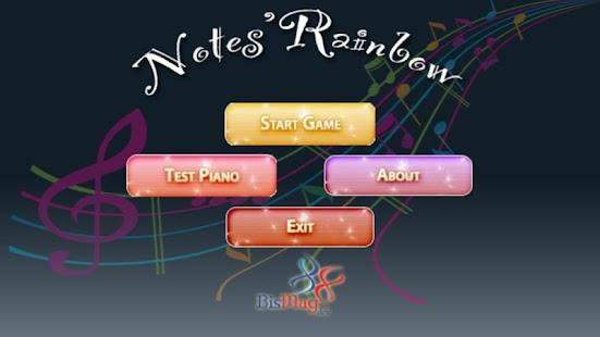 Notes' Rainbow Free - screenshot thumbnail