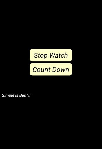 SimpleStopWatch シンプルストップウォッチ