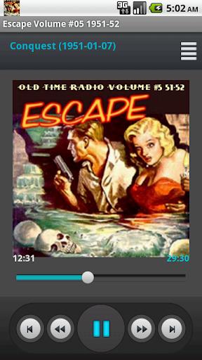 Escape - Old Time Radio Vol.5