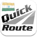 Quick Route India icon