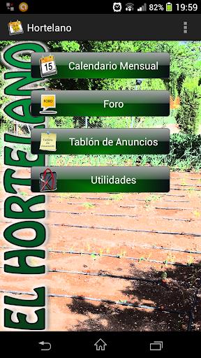 Calendario del Hortelano