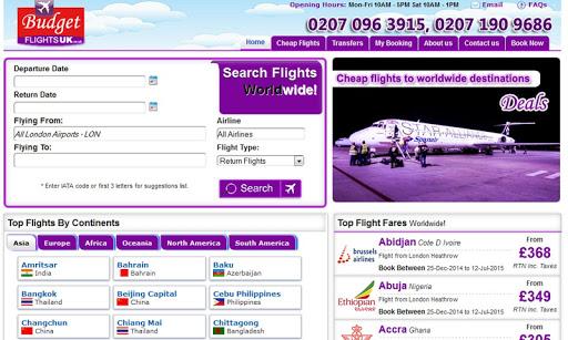 Budget Flights UK