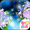 Hydrangea Theme-Rainy Season- icon