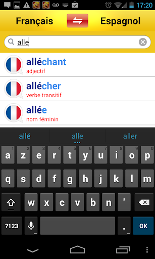 【免費書籍App】Dictionnaire espagnol-français-APP點子