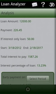 Loan Analyzer- screenshot thumbnail