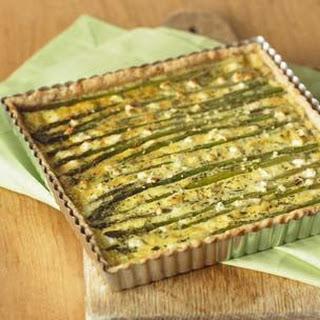 Asparagus-Goat Cheese Tart