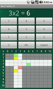 Mes Tables- screenshot thumbnail
