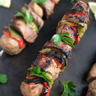 Greek Souvlaki Beef Kabobs