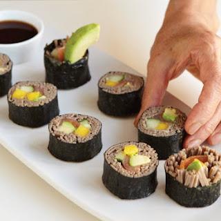 Soba Sushi Rolls.
