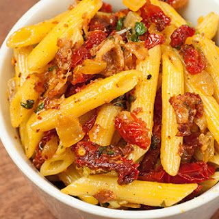 Penne with Pancetta and Sun Dried Tomatoes Recipe