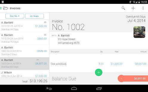 Invoice2go-Invoice on the Job - screenshot thumbnail
