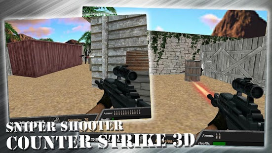 Counter Strike 3D - Sniper