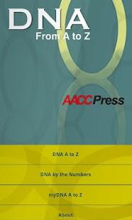 DNA A to Z- screenshot thumbnail