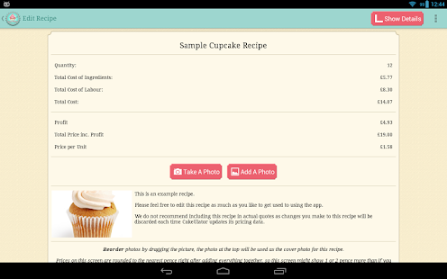 CakeULator+- screenshot thumbnail