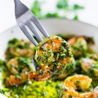 Chimichurri Shrimp ( Appetizer or Dinner)