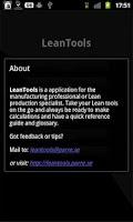 Screenshot of LeanTools