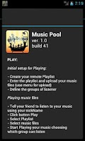 Screenshot of Music Pool Group Play