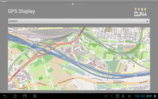 Locator SIGFOX GPS Tablet