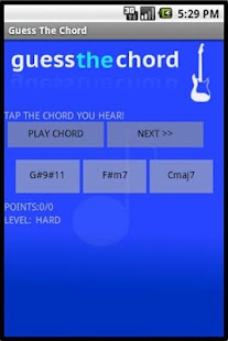 Guess the chord! - Quiz - screenshot thumbnail