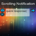 Scrolling Notifications Free