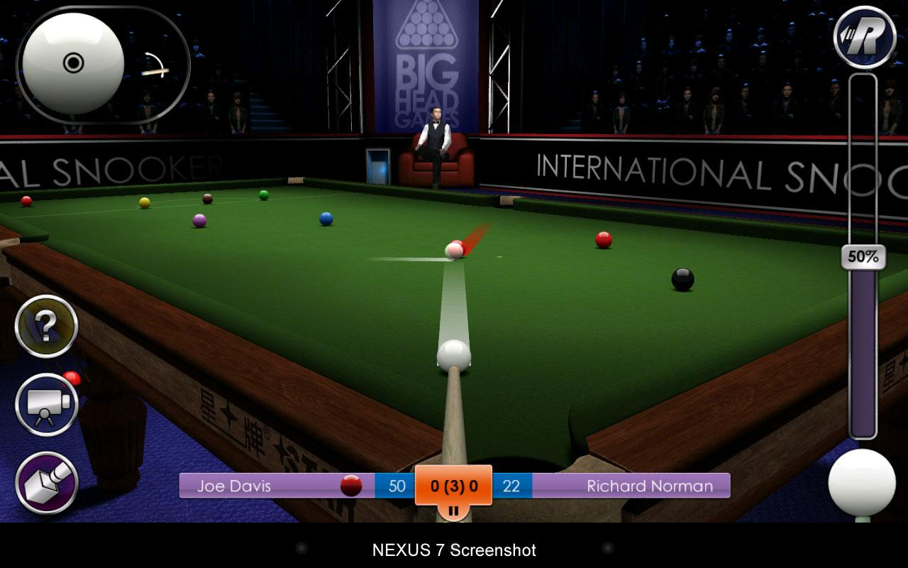 International Snooker Pro HD - screenshot