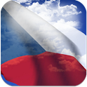 3D Czech Flag + icon