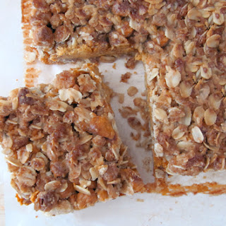 Pumpkin Pie Streusel Bars