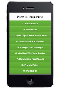 Acne Attack Natural Remedies - screenshot thumbnail