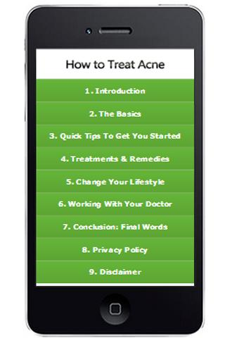 Acne Attack Natural Remedies- screenshot