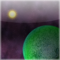 Live Wallpaper Space Planet icon