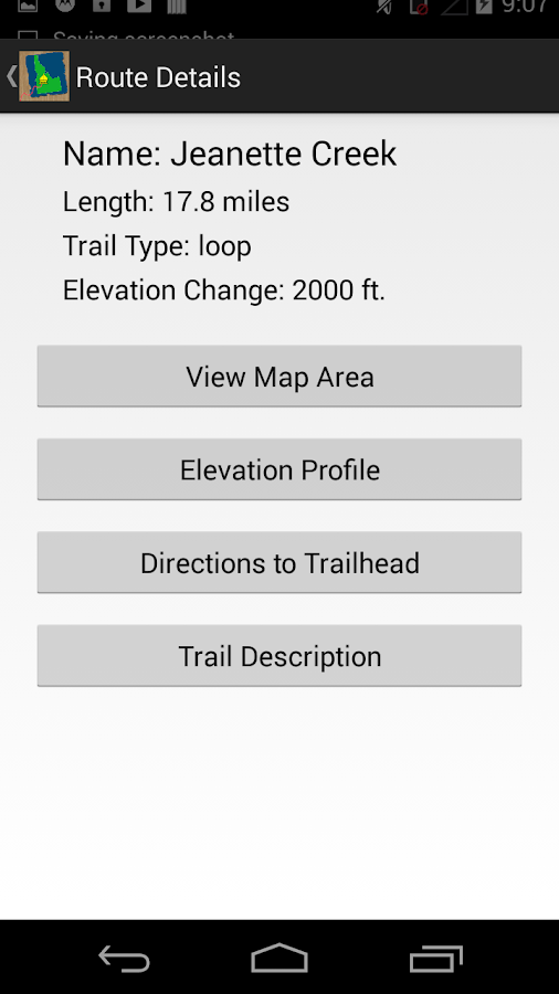 McCall Trails- screenshot