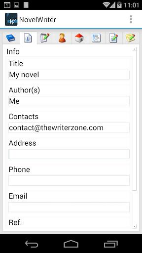 【免費生產應用App】Novel Writer-APP點子