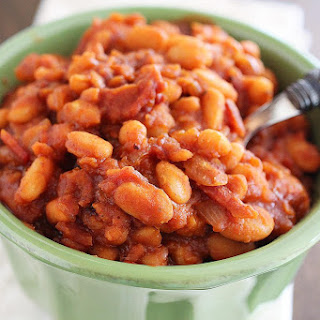 Easy Maple-Bourbon BBQ Baked Beans